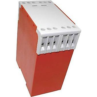 DIN rail casing 74 x 45 x 99 Polyamide 66 Red Axxatronic CCH12 1 pc(s)