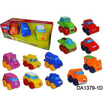 WinFun Box 3 Cars cuddly (Babies , Toys , Vehicles)
