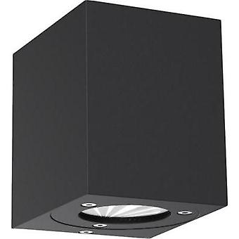 LED outdoor wall light 10 W Warm white Nordlux Canto Kubi 77521003 Black