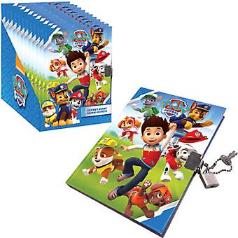 Kids Euroswan Paw Patrol-Journal Padlock (Toys , School Zone , Backpacks)