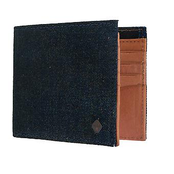 Replay purse wallet purse denim/leather blue/cognac