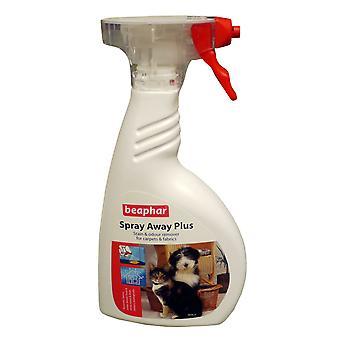 Beaphar Spray lejos Plus 400ml disparador (paquete de 6)