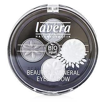 Lavéra hermoso Mineral sombra de ojos Quattro - # 01 gris ahumado - 4x0.8/0.026oz