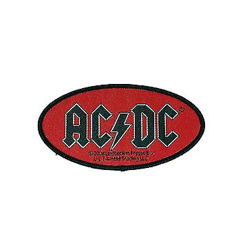 AC/DC Oval Logo Woven Patch