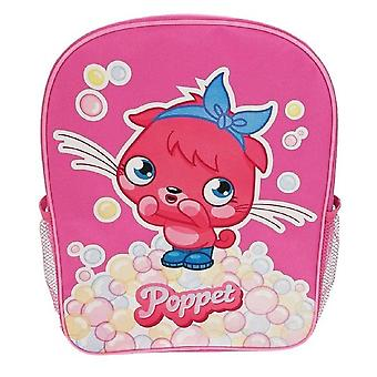 Kids Backpack | MOSHI MONSTERS POPPET BUBBLES | Childrens Bag | Officially Licensed