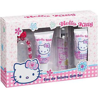 Hello Kitty Cologne Kitty Case 30 + 30 Ml Body Gel + 30 + Bracelet