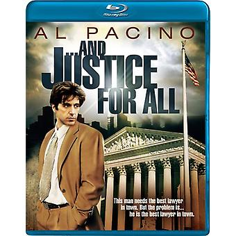 And Justice for All [BLU-RAY] USA import