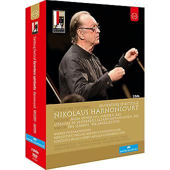 Nikolaus Harnoncourt - importación de USA de Salzburg Festival Nikolaus Harnoncourt [DVD]
