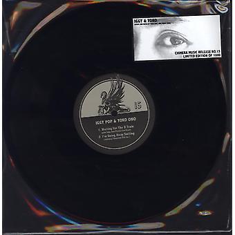 Iggy Pop & Yoko Ono - venter de havde ' tog / jeg vil væk smilende [Vinyl] USA import