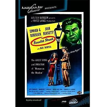 Scarlet Street [DVD] USA importerer