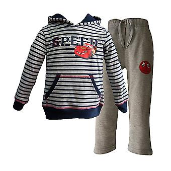 New Boys Disney Cars McQueen Jogging Suit Tracksuit