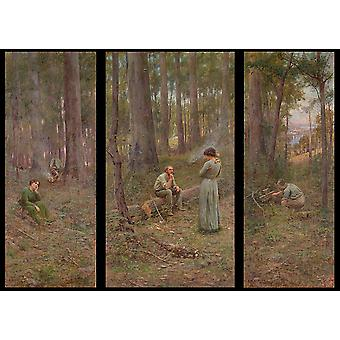 Frederick McCubbin - The pioneer Poster Print Giclee