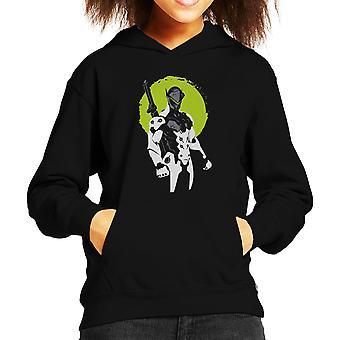 Overwatch Genji Green Kid's Hooded Sweatshirt