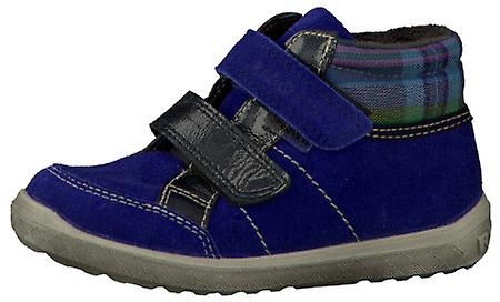Ricosta Bajla Girls Waterproof Ankle Boot Blue