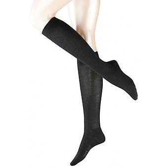 Falke laine solde Knee High chaussettes - Anthracite