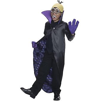 Children's costumes  Minion halloween dracula child costume