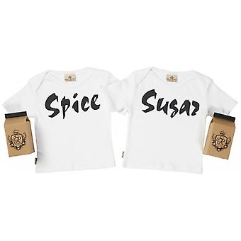 Spoilt Rotten Sugar & Spice Baby T-Shirt