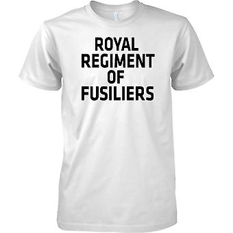 Licensed MOD -  British Army Royal Regiment Of Fusiliers - Text - Kids T Shirt