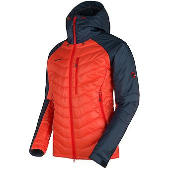 **SALE**Mammut Mens Rime Pro IN Hooded Jacket Spicy/Marine (X-Large)