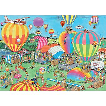 Jan van Haasteren The Balloon Festival Jigsaw Puzzle (1000 sztuk)