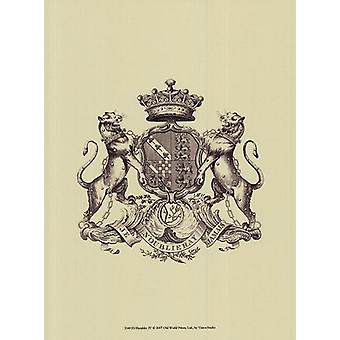 Heraldiek IV Poster Print by visie studio (10 x 13)