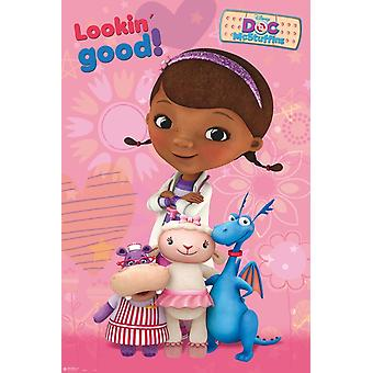 Doc Mcstuffins - Doc And Toys Poster Poster Print