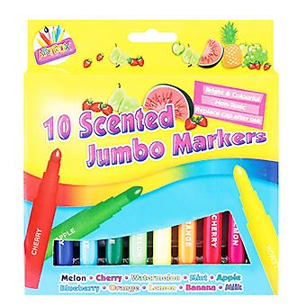 ArtBox 10 Scented Thick Jumbo Markers