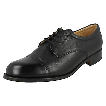 Mens Barker Brogue Style Shoes Staines