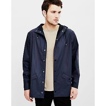 Rains Jacket Navy