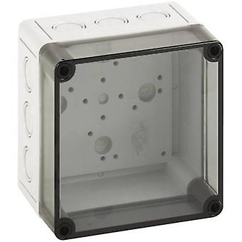 Build-in casing 130 x 130 x 99 Polycarbonate (PC) Light grey Sp