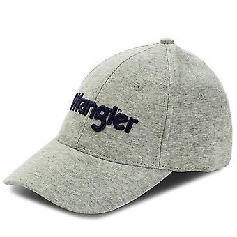 Wrangler Jersey Cap - Mid Grå Melange