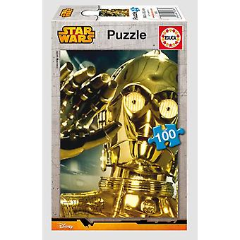 Educa 100 C-3PO Puzzle 100 Pieces (Babies and Children , Toys , Boardgames)