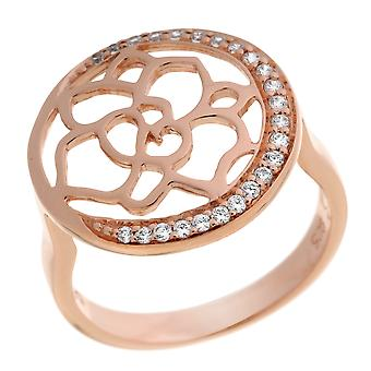 Orphelia Silver 925 Ring Rose Flower  ZR-7089/1