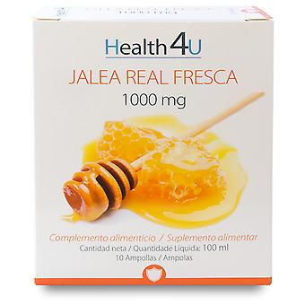 Health 4U Jalea Real Fresca 1000 mg 10 Ampollas