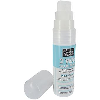 Couture Creations 2-Way Glue Pen 35gr-