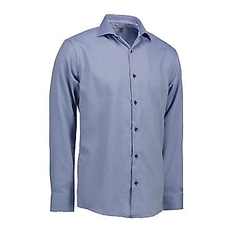 ID Mens Dobby Alonso Shirt Long Sleeve Modern Fit