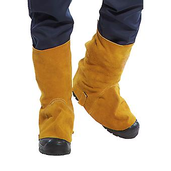 sUw - Flame Resistant Leather Welding Boot Covers