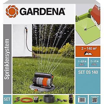 Retractable square sprinkler set GARDENA OS 140 8221-20 2 - 140 m²