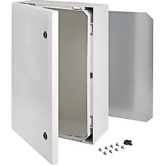 Fibox ARCA 8120012 montere kabinett, bygge-in casing 600 x 400 x 210 polykarbonat (PC) grå 1 eller flere PCer