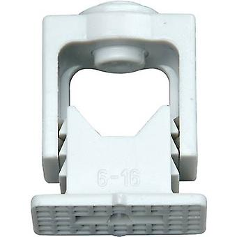 Kopp 341704089 341704089 ISO clip resealable Grey 10 pc(s)