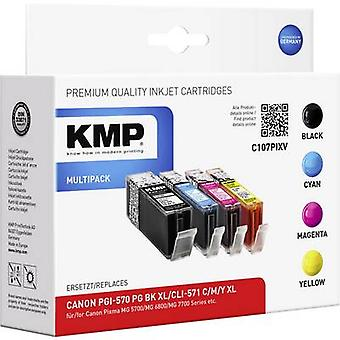 KMP Ink replaced Canon PGI-570 XL, CLI-571 XL Compatible Set