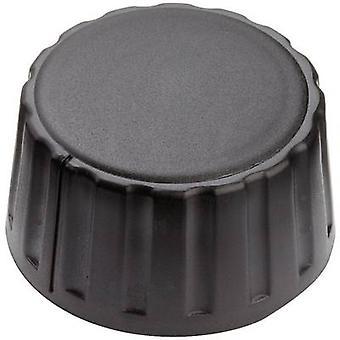 Mentor 4334.6000 Control knob Black (Ø x H) 36 mm x 18.5 mm 1 pc(s)