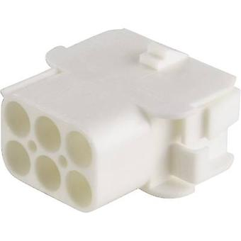 TE Connectivity Socket enclosure - cable Universal-MATE-N-LOK Total number of pins 6 Contact spacing: 6.35 mm 350781-1 1 pc(s)