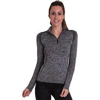 Outdoor Look Womens/Ladies Glenel Zip Cool Dry T Shirt Top