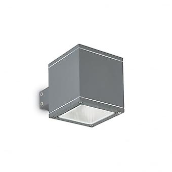 Ideal Lux Snif Wall Light Square Antracite