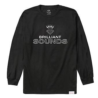 Diamond Supply Co Diamond Records L/S T-shirt Black
