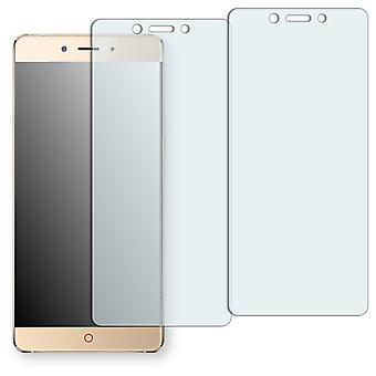 ZTE Nubia Z11 display protector - Golebo crystal-clear protector (deliberately smaller than the display, as this is arched)
