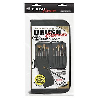 Royal & Langnickel Keep 'n' Carry Brush Case with Bonus Set of 7 Starter Brushes