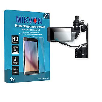 Sony PXW-FS5 Screen Protector - Mikvon Armor Screen Protector (Retail Package with accessories)