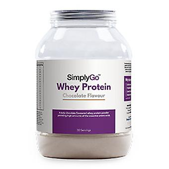 Simplygo/chocolate-whey-protein-powder